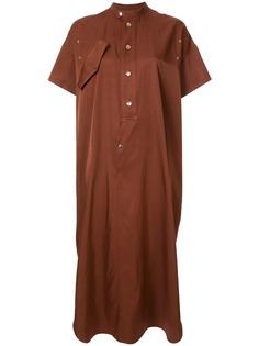 G.V.G.V. атласное платье-рубашка