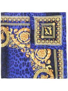 Versace шейный платок с принтом Wild Barocco
