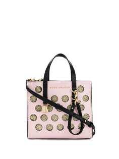 Marc Jacobs сумка-тоут Mini Grind с узором в горох