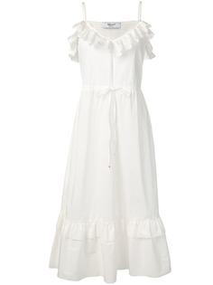 Blugirl платье миди с оборками