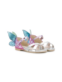 Sophia Webster Mini сандалии с декором в форме бабочки