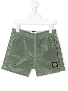 Stone Island Junior шорты для плавания с эластичным поясом