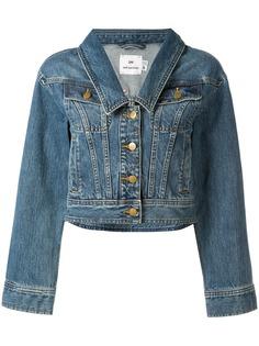 Self-Portrait джинсовая куртка с заостренным воротником