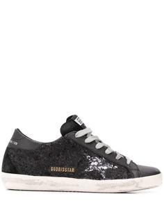 Golden Goose Deluxe Brand кроссовки Superstar с пайетками