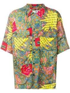Vivienne Westwood рубашка с принтом
