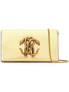 Roberto Cavalli Mirror Snake shoulder bag