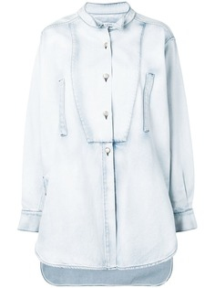 Loewe джинсовая рубашка оверсайз