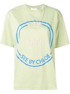 See By Chloé SBC printed T-shirt