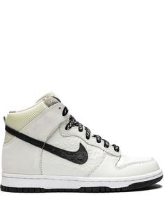 Nike высокие кроссовки Dunk High Stussy World Tour
