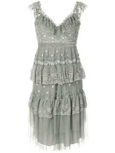 Needle & Thread платье без рукавов