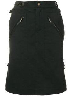 Christian Dior Vintage юбка с завышенной талией