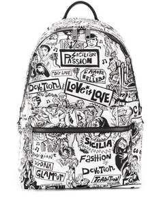 Dolce & Gabbana рюкзак с принтом