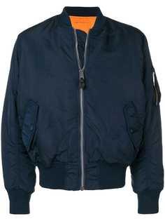 Alpha Industries куртка-бомбер с карманом