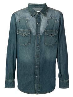 ce3d5f086fa353b Мужские рубашки Saint Laurent – купить рубашку в интернет-магазине ...