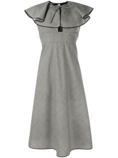 Rochas платье с оборками