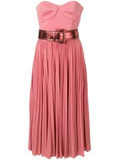 Elisabetta Franchi расклешенное платье миди