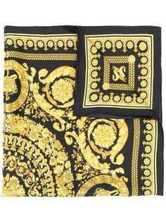 Versace шейный платок с принтом Barocco