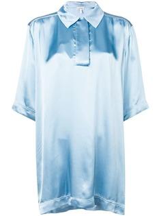 Loewe рубашка оверсайз с рукавами средней длины