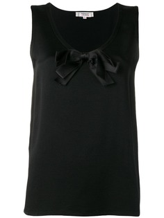 Yves Saint Laurent Vintage 1990s bow detail top