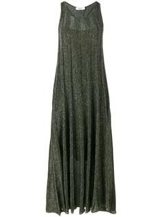 Blugirl длинное платье с блестками