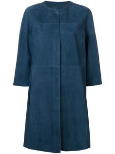Drome пальто без воротника