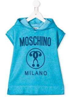 Moschino Kids худи с логотипом