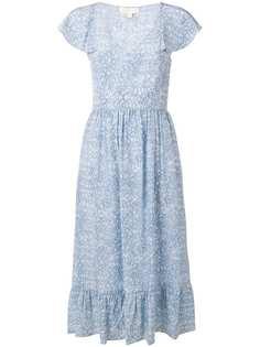 Michael Michael Kors легкое платье с цветочным принтом