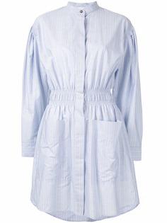 Cédric Charlier платье-рубашка в полоску