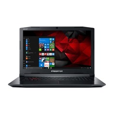 "Ноутбук ACER Predator Helios 300 PH315-51-79PE, 15.6"", IPS, Intel Core i7 8750H 2.2ГГц, 8Гб, 1000Гб, 256Гб SSD, nVidia GeForce GTX 1050 Ti - 4096 Мб, Windows 10 Home, NH.Q3HER.012, черный"