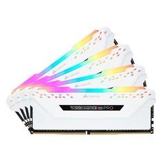Модуль памяти CORSAIR Vengeance RGB Pro CMW64GX4M4C3200C16W DDR4 - 4x 16Гб 3200, DIMM, Ret