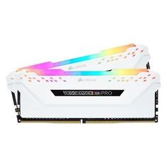 Модуль памяти CORSAIR Vengeance RGB Pro CMW32GX4M2C3466C16W DDR4 - 2x 16Гб 3466, DIMM, Ret