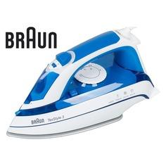 Утюг BRAUN TS355, 2000Вт, синий/ белый