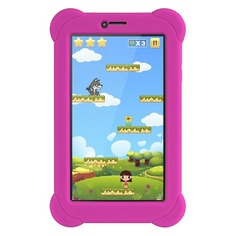 Планшет DIGMA Plane 7556 3G + чехол, 1GB, 16GB, 3G, Android 7.0 розовый
