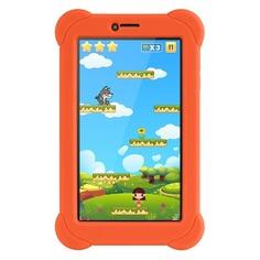 Планшет DIGMA Plane 7565N 3G + чехол, 1GB, 16GB, 3G, Android 7.0 оранжевый