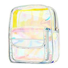 Рюкзак LADY PINK голографический прозрачный