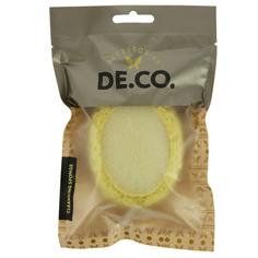 Спонж для очищения лица и тела DE.CO. желтый Deco