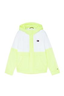 1ef48f738352 Контрастная куртка с яркими вставками Tommy Hilfiger Kids
