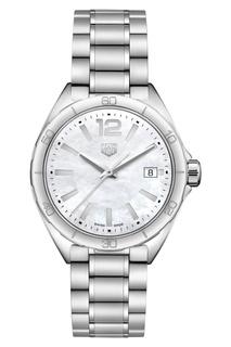 FORMULA 1 Кварцевые женские часы 35 мм с белым перламутровым циферблатом Tag Heuer