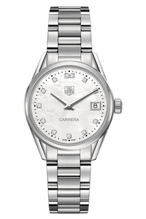 CARRERA Кварцевые женские часы с бриллиантами Tag Heuer