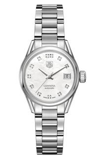 CARRERA Calibre 9 Автоматические женские часы с белым циферблатом TAG Heuer
