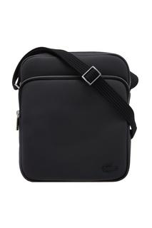 Текстильная сумка черного цвета Lacoste