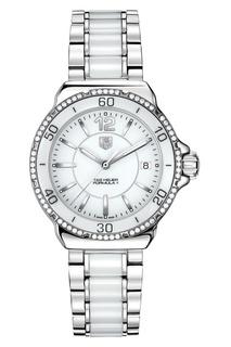 FORMULA 1 Кварцевые женские часы с белым циферблатом Tag Heuer