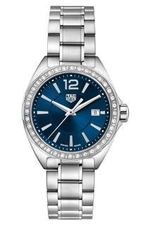 FORMULA 1 Кварцевые женские часы 32 мм с синим циферблатом Tag Heuer