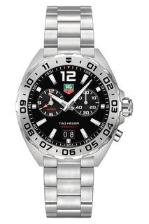 FORMULA 1 Кварцевые мужские часы с черным циферблатом Tag Heuer