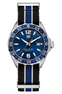 FORMULA 1 Кварцевые мужские часы с текстильным ремешком Tag Heuer
