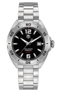 FORMULA 1 Calibre 5 Автоматические мужские часы с черным циферблатом Tag Heuer
