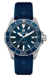 AQUARACER Кварцевые мужские часы с синим циферблатом TAG Heuer