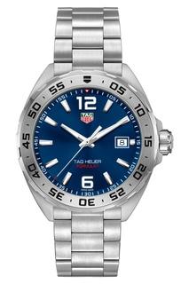 FORMULA 1 Кварцевые мужские часы с синим циферблатом TAG Heuer