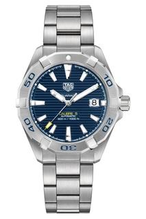AQUARACER Calibre 5 Автоматические мужские часы с синим циферблатом Tag Heuer