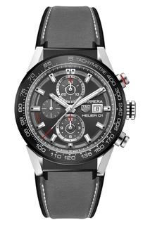 CARRERA Calibre Heuer 01 Автоматические мужские часы с серым ремешком